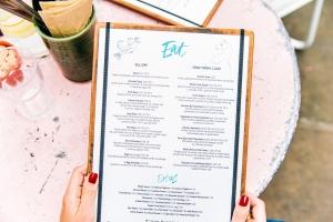creer un menu de restaurant