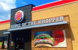 prendre Burger King comme modele